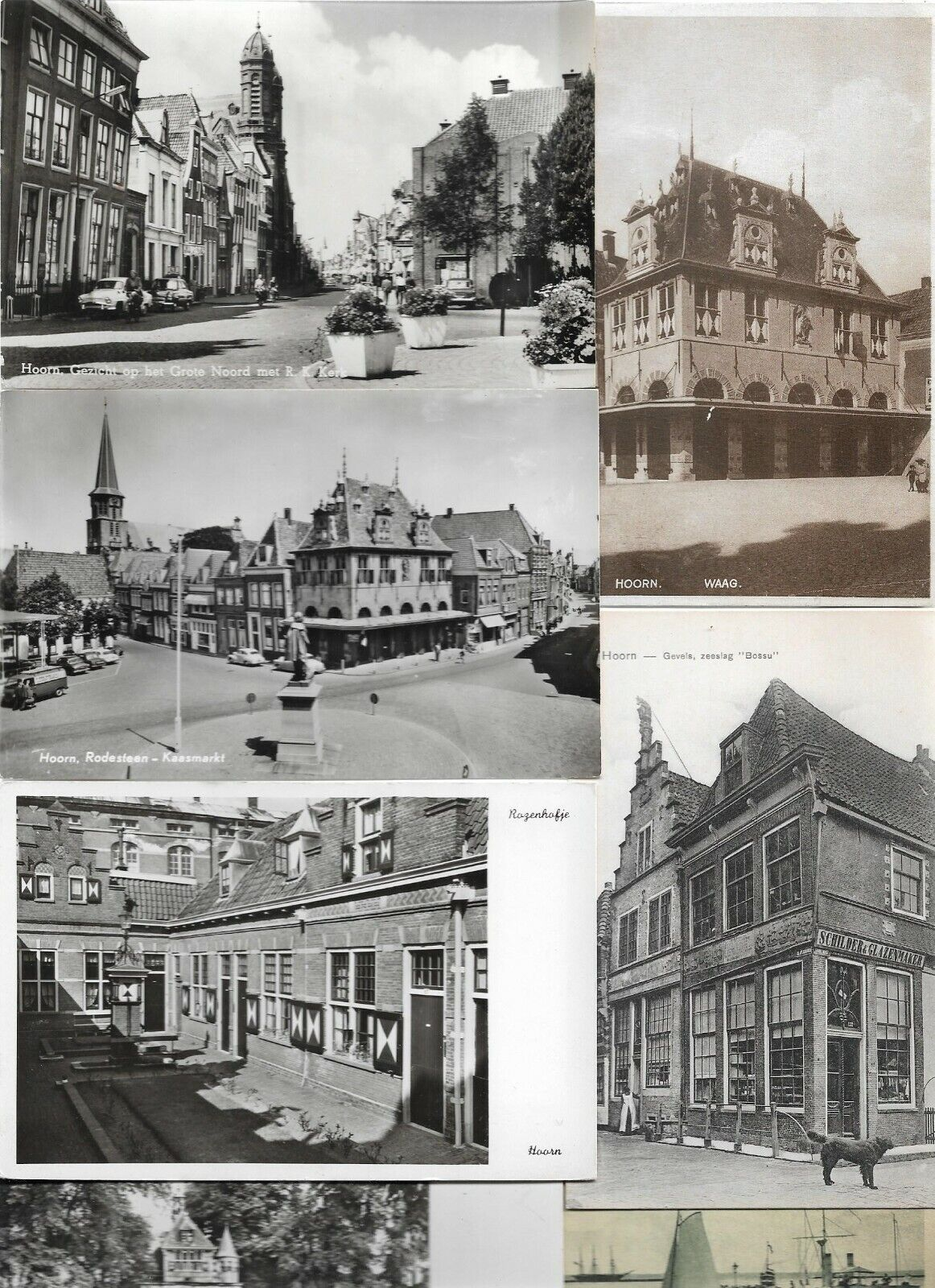 Netherlands Hoorn Museum and more Postcard Lot of 49 RPPC and Printed 01.04 Без бренда - фотография #2