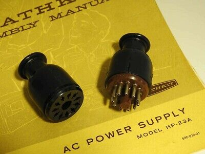 * BRAND NEW 11 PIN CABLE FOR HEATHKIT HP POWER SUPPLIES - FREE DELIVERY USA Amphenol Does Not Apply - фотография #2