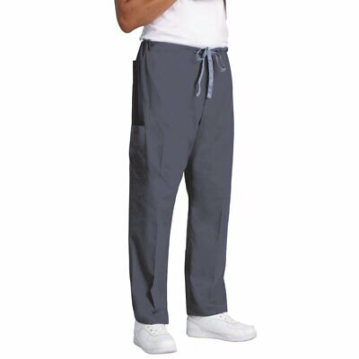 Fashion Seal Uniforms Unisex Reusable Scrub Pants Pewter X-Small 3 Each Fashion Seal 7929-XS
