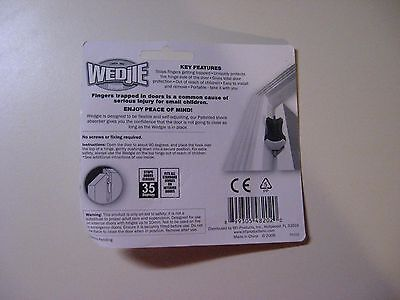 2 WEDJIES - A CHILD SAFETY SOLUTION - TODDLER - NEW IN ORIGINAL SEALED PACKAGES Wedjie - фотография #2