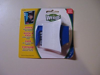 2 WEDJIES - A CHILD SAFETY SOLUTION - TODDLER - NEW IN ORIGINAL SEALED PACKAGES Wedjie