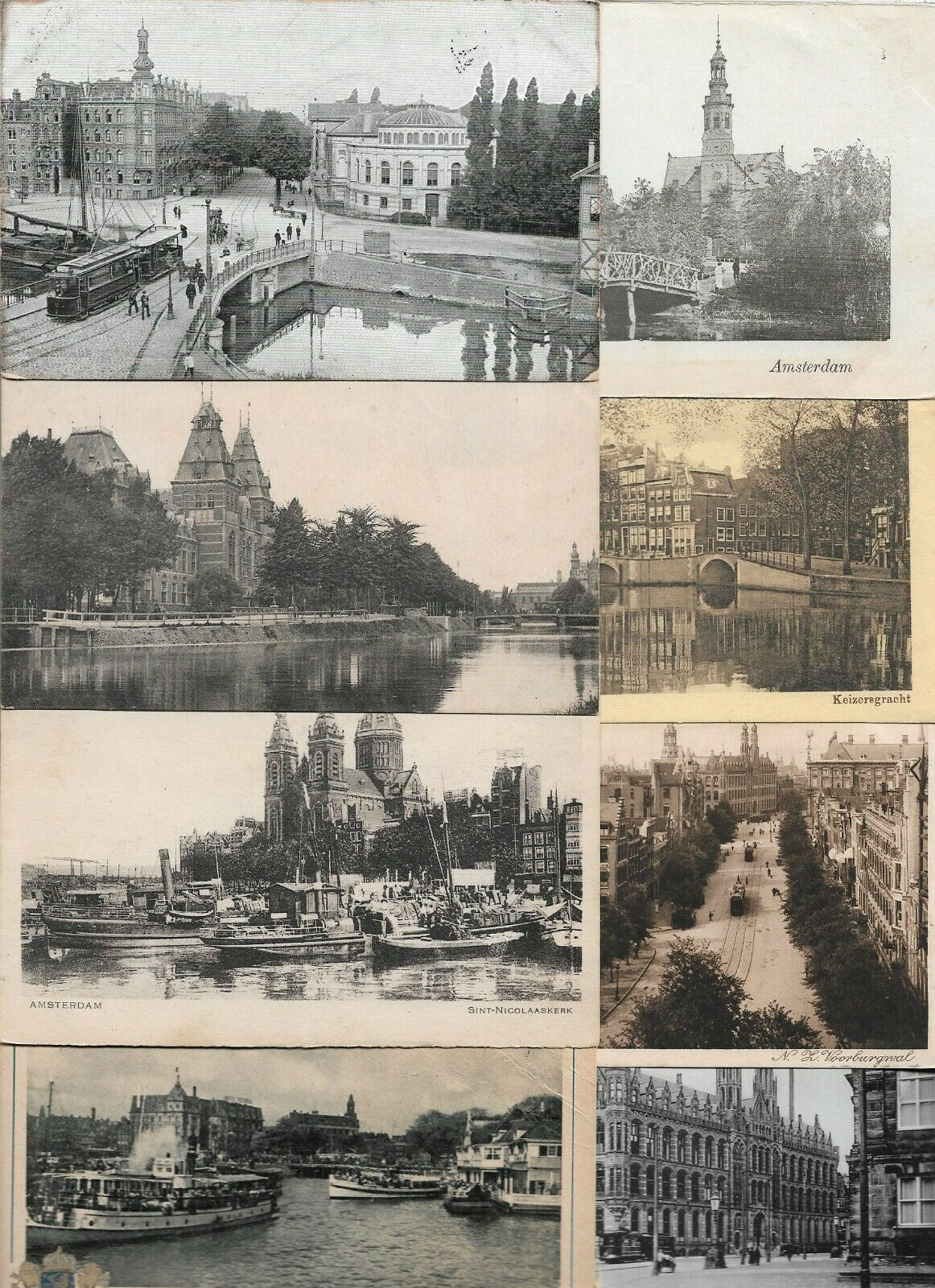 Netherlands Amsterdam Postcard Lot of 30 01.10 Без бренда