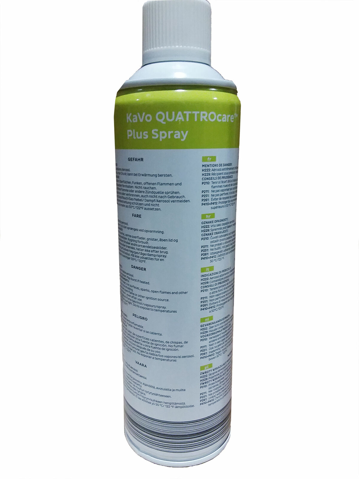 Kavo 1.005.4524 QUATTROcare Plus Spray for Instruments 500 mL Can 1.005.3844 Kavo 1.005.4524