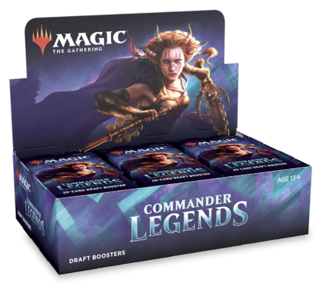 2 Box Lot MTG Commander Legends Booster 24 Packs Per Box New Factory Sealed Без бренда