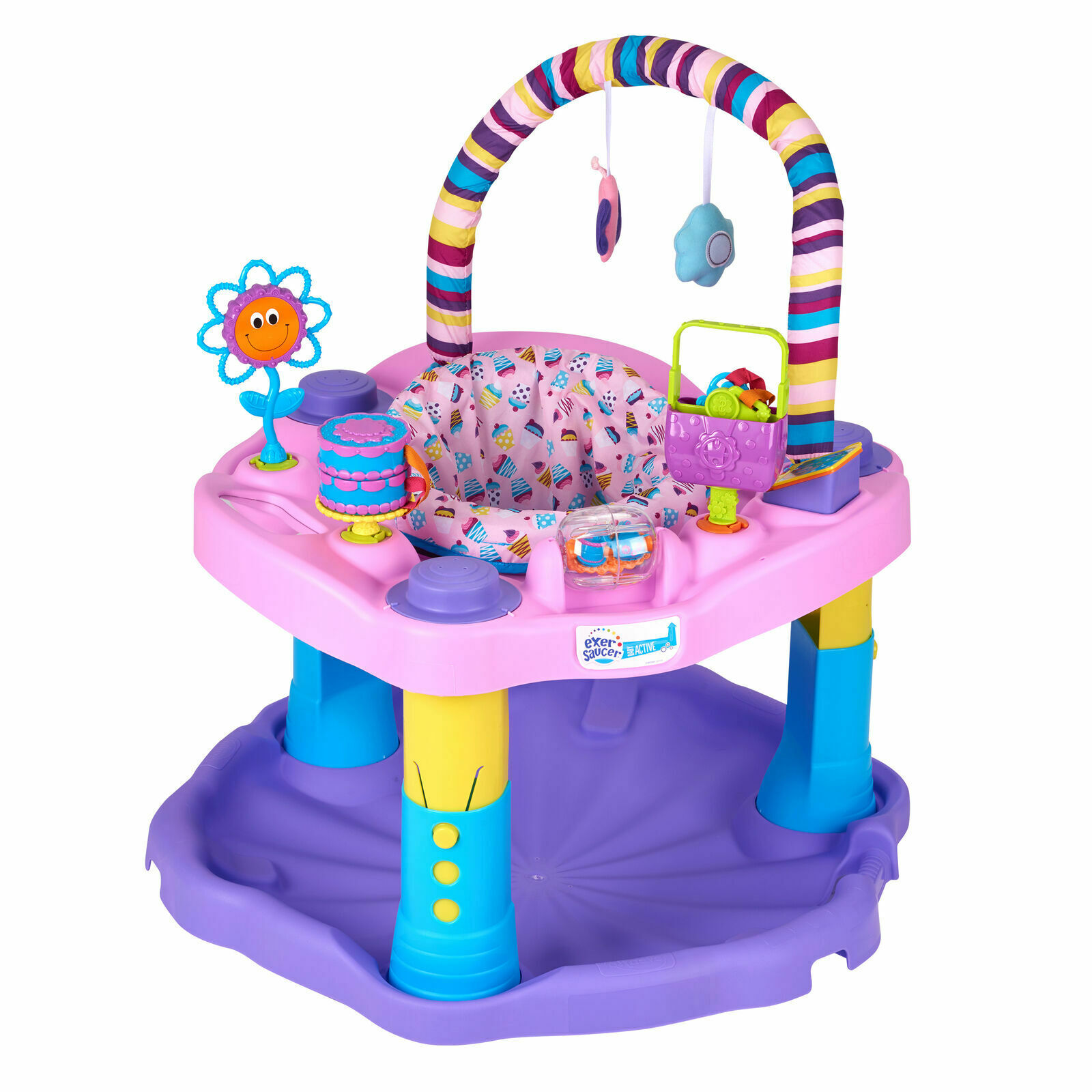 Evenflo Stabilizer Feet Replacement Sweet Tea Party Exersaucer Evenflo 6164920 - фотография #6