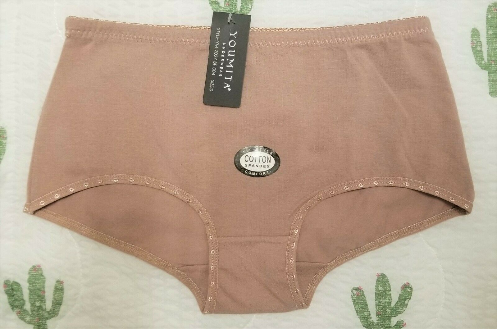 Lot 6 Women's Ladies Cotton High Waist Tummy Control Brief Panties Size S-2XL Youmita Does Not Apply - фотография #6
