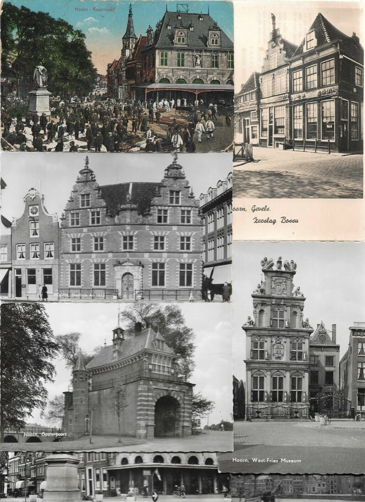 Netherlands Hoorn Museum and more Postcard Lot of 49 RPPC and Printed 01.04 Без бренда
