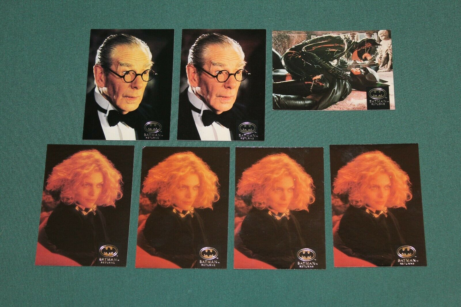 BATMAN RETURNS 1992 TOPPS STADIUM CLUB CARDS: 2,4,5,6,7,10,12,13,14,15,16,17,20 Без бренда NONE - фотография #2