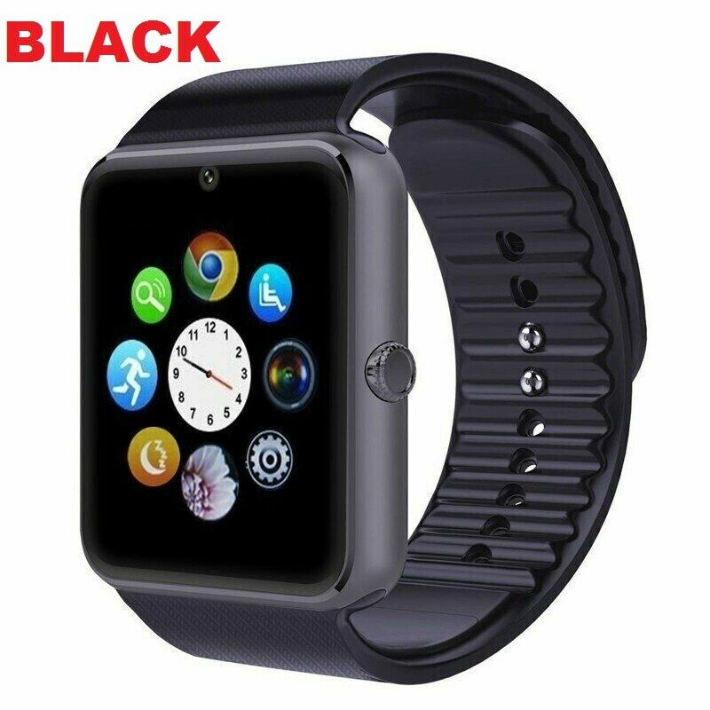 2 Pack Gold/Black Case GT08 Smartwatch Bluetooth Camera Fitness Tracker Watch Unbranded/Generic GT08 - фотография #3