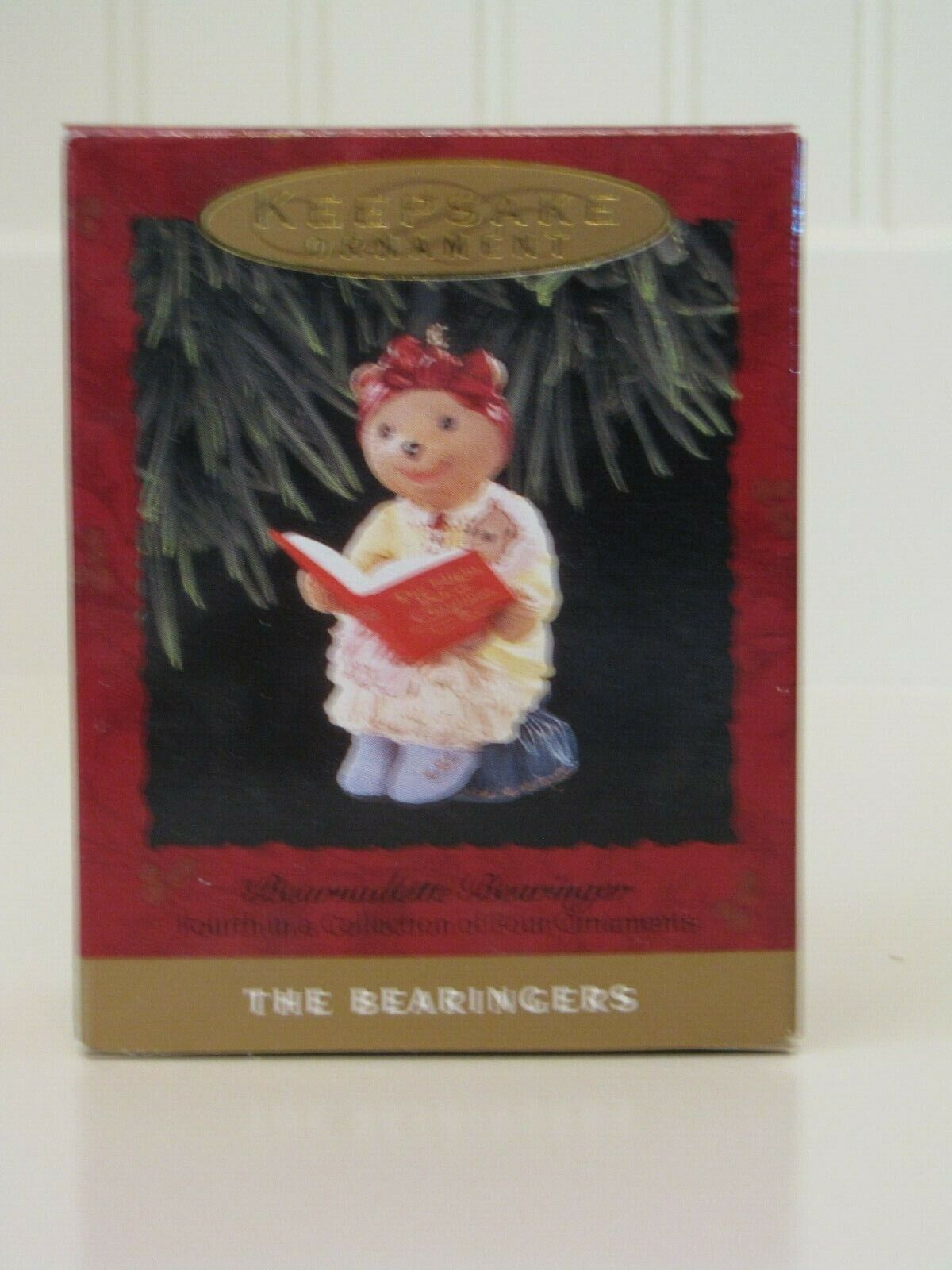 (5) Hallmark Keepsake The Bearingers Ornaments 1993 Без бренда - фотография #2