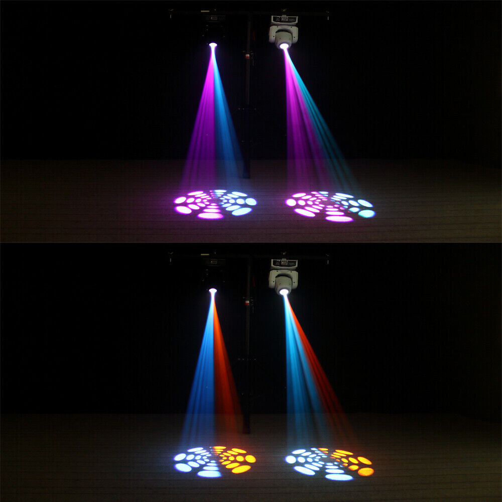4PCS 80W Moving Head Stage Lighting RGBW Gobos Beam LED Light DMX Disco Party DJ U`King Does not apply - фотография #7
