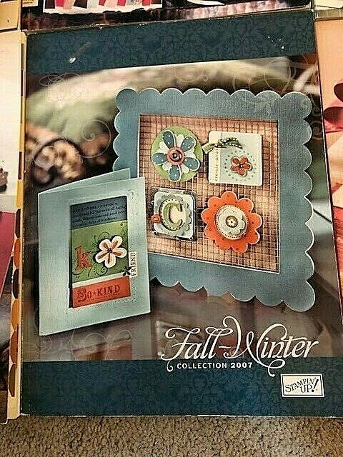 Stampin Up Idea Book Catalog - LOT of 6 Stampers Sampler Magazine Rubber Holiday Stampin' Up! Does Not Apply