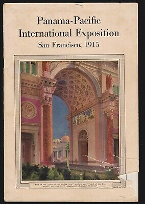 US 1915 2 Pan-Pacific International Exposition Souvenir Book Без бренда