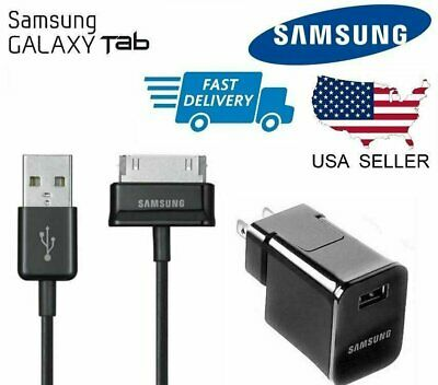 OEM Wall Charger USB Cable For Samsung Galaxy Tab 2 7.0 7.7 8.9 10.1 Note Tablet Samsung 0879562035115