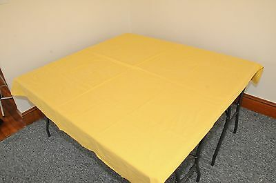 1950's Yellow Tablecloth's   Stamped &  Rare  !  Lot of Three !!! Без бренда - фотография #2