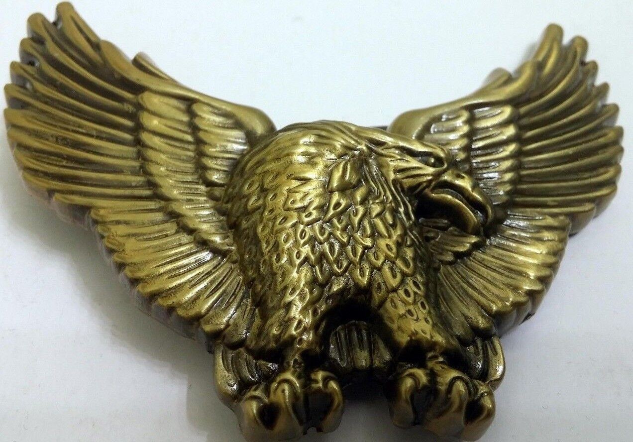 Belt Buckle Eagle Bird Hawk Animal Native American Canadian Indian Dream Catcher Unbranded
