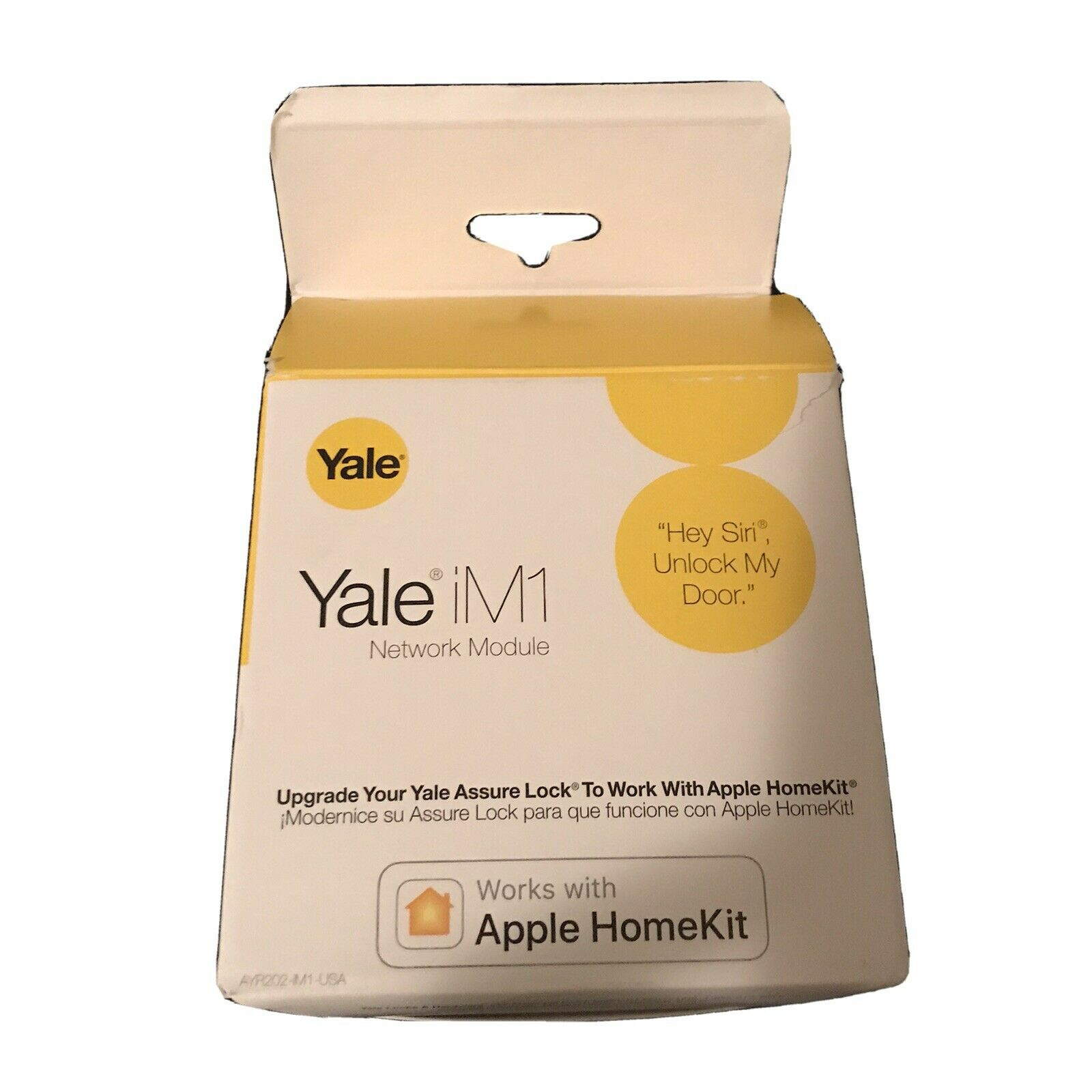 Yale iM1 Network Module for Yale Assure Lock to Work w/ Apple Home Kit Yale Does Not Apply