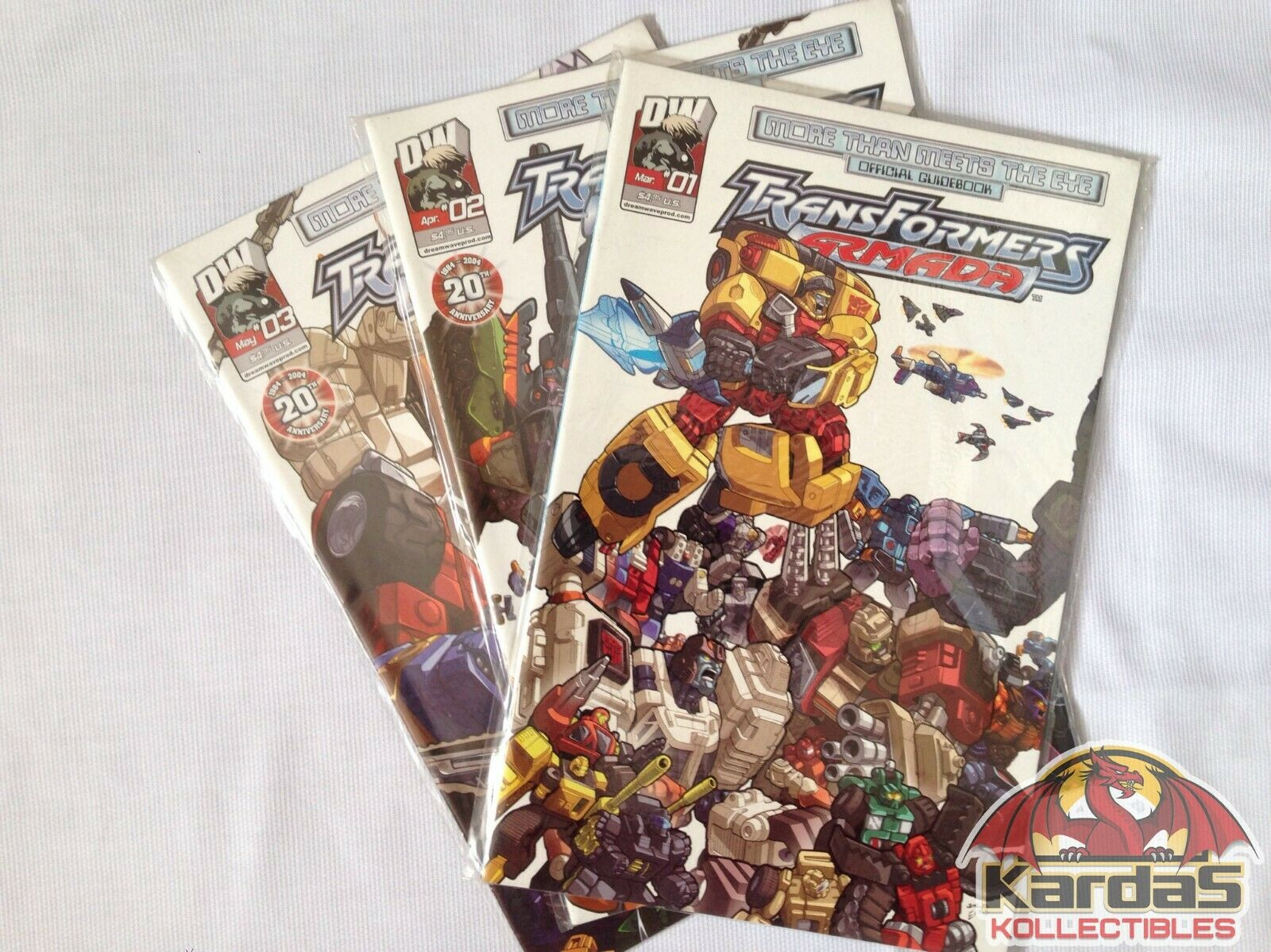 Transformers Armada / Energon - 28 Comic Collection + 3 Guidebooks Без бренда - фотография #2