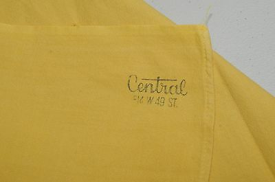 1950's Yellow Tablecloth's   Stamped &  Rare  !  Lot of Three !!! Без бренда - фотография #5