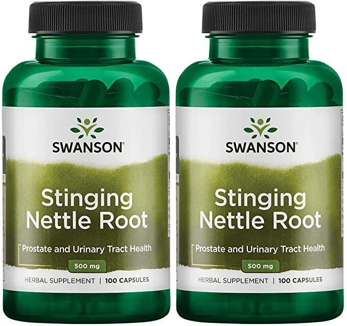 TWO 2 Stinging Nettle Root from Swanson.  200 capsules (total), 500 mg each Swanson SW968