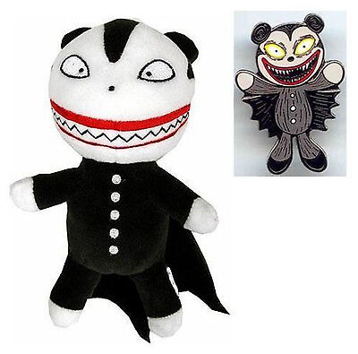 "NIGHTMARE BEFORE CHRISTMAS SCARY TEDDY 8"" PLUSH & PIN Без бренда"