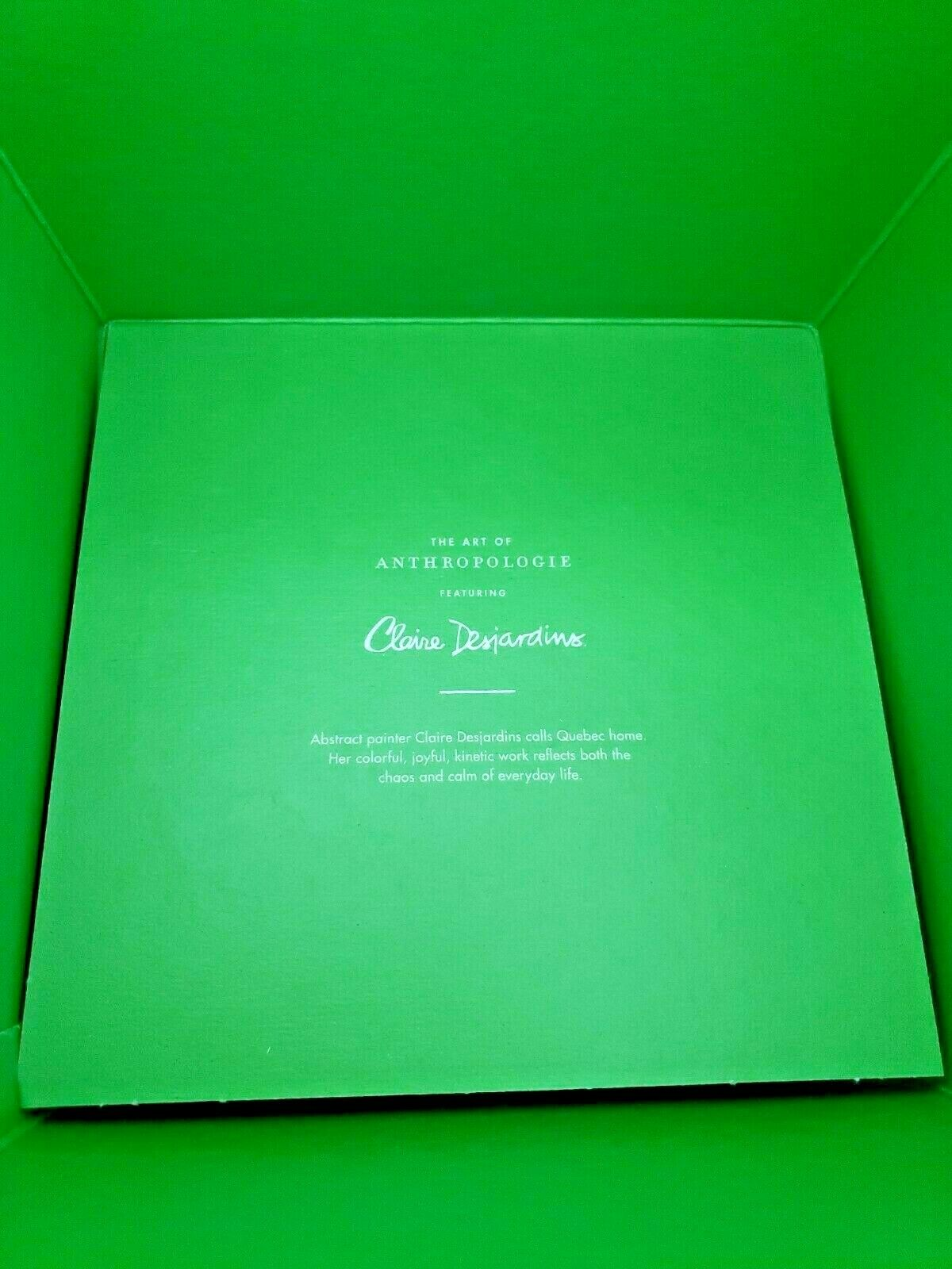 "64 Reusable Anthropologie Claire Desjardins Artwork Premium Gift Boxes 7"" x7""x7"" Unbranded Does Not Apply - фотография #5"