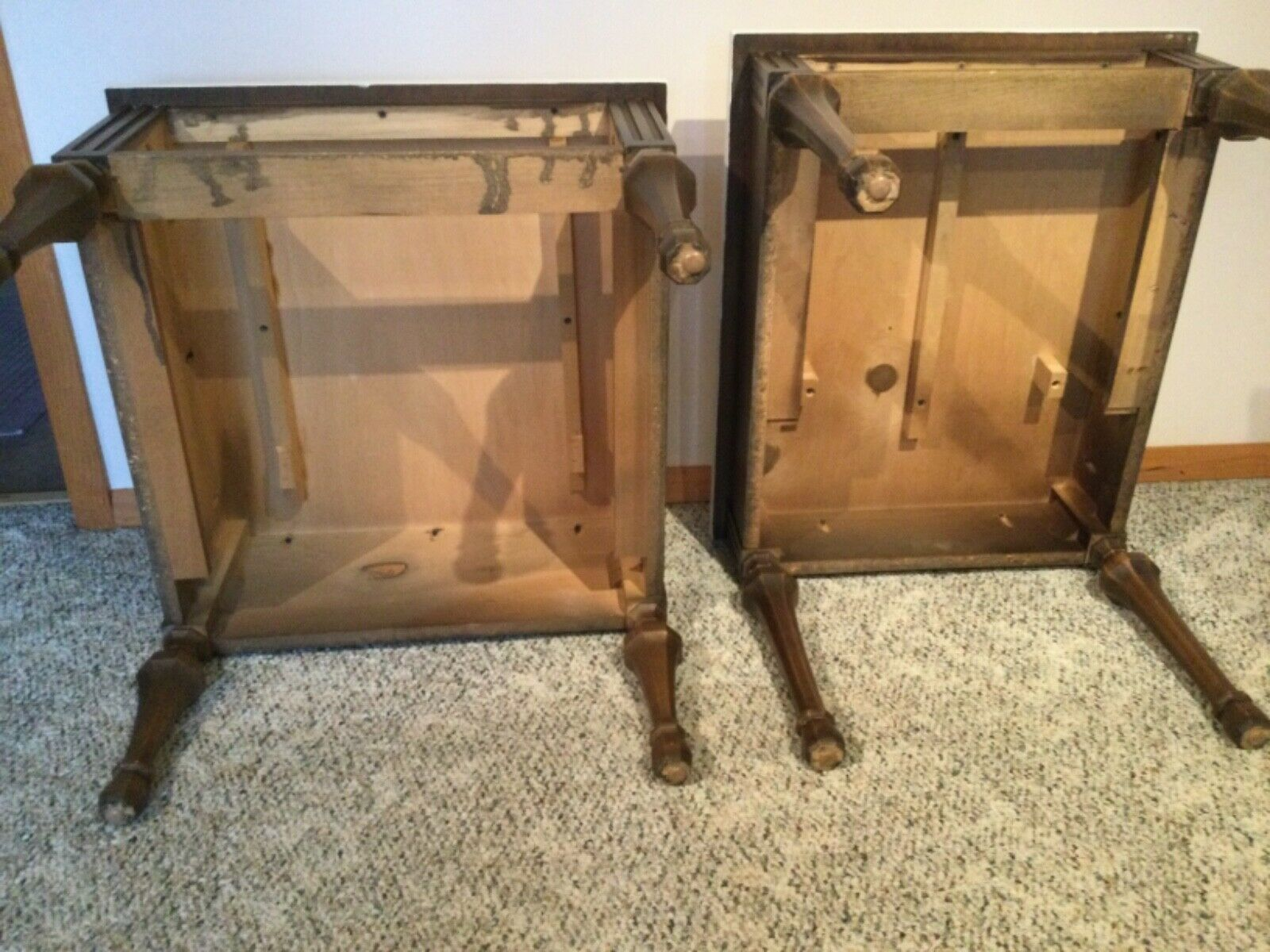 Vintage His and Hers Side Tables AMERICAN of MARTINSVILLE - фотография #7