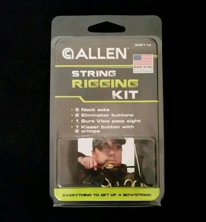 Allen Bowhunting Accessory Gift Pack Arrow Rest Rigging Peep Sight Wrap Repair Allen 17111A - фотография #6
