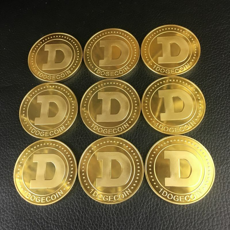 DOGECOIN CRYTOCURRENCY VIRTUAL CURRENCY SOUVENIR GIFT (9 PIECES) Без бренда