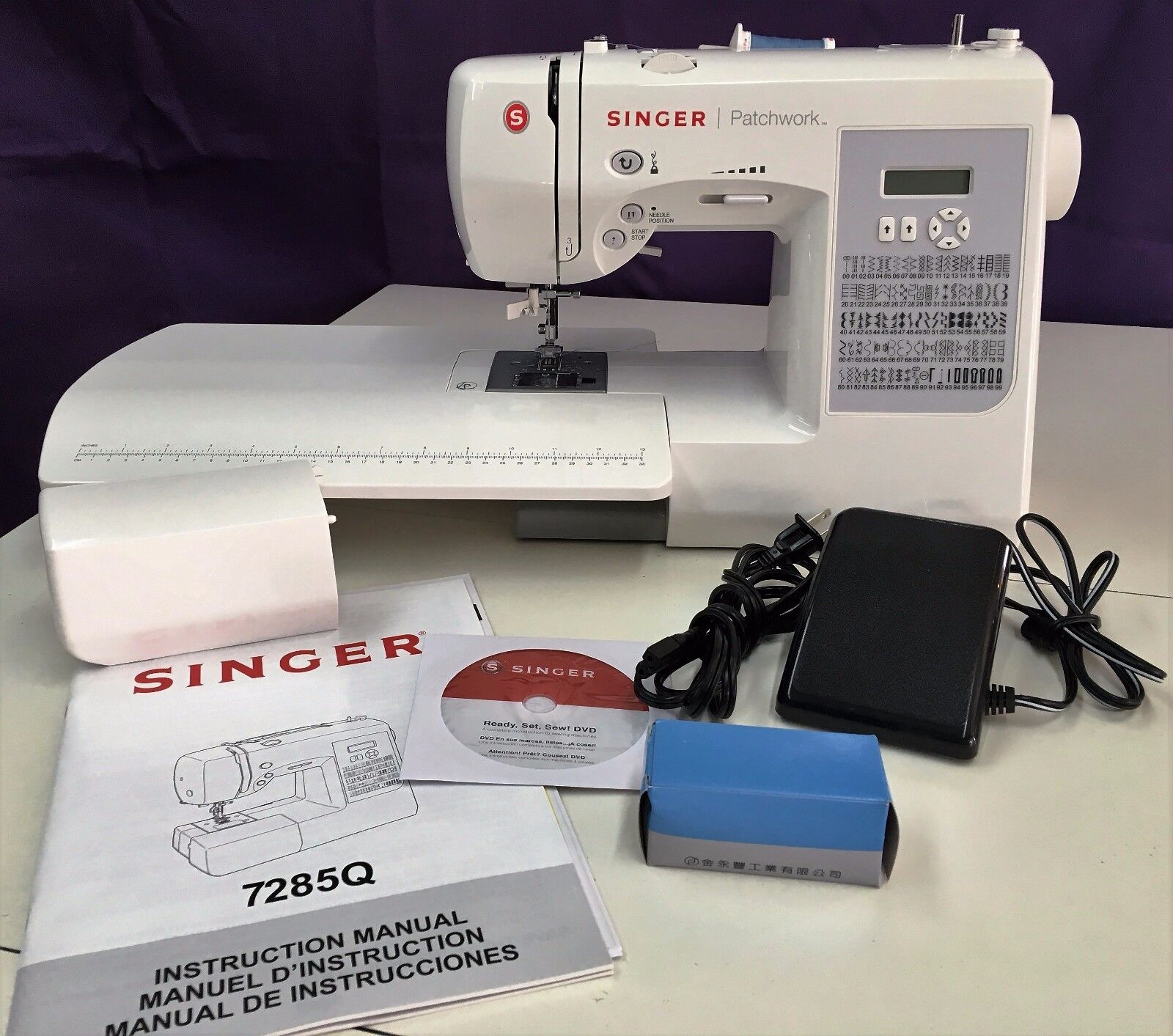 SINGER 7285Q PATCHWORK NEWEST QUILTING & SEWING MACHINE Authorized Singer Dealer SINGER Does Not Apply