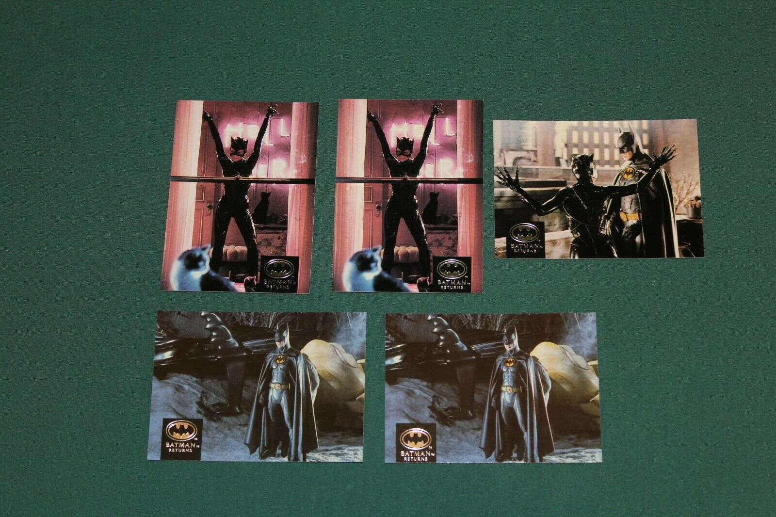 BATMAN RETURNS 1992 TOPPS STADIUM CLUB CARDS: 2,4,5,6,7,10,12,13,14,15,16,17,20 Без бренда NONE - фотография #3