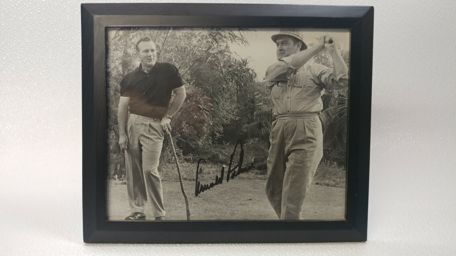 Arnold Palmer And Bob Hope & Spanky McFarland Autographed Prints 8x10 Без бренда