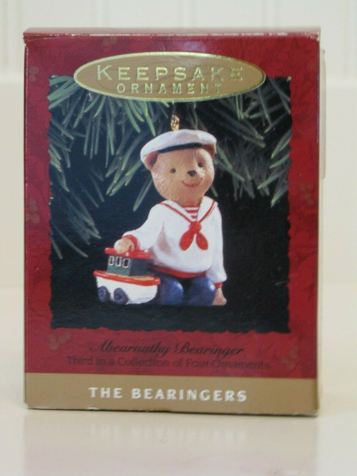 (5) Hallmark Keepsake The Bearingers Ornaments 1993 Без бренда - фотография #6