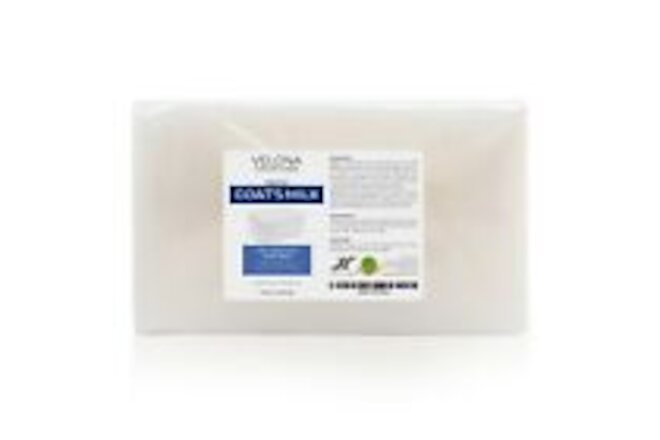 2,5,10,25 LB - GOATS MILK Soap Base by Velona | SLS/SLES free | Melt and Pour