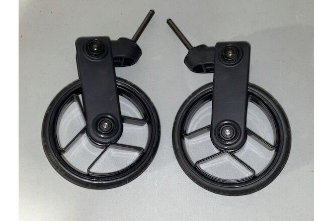 Set of 2 Orbit Baby G2 Stroller Wheels Front Left Right BARELY USED