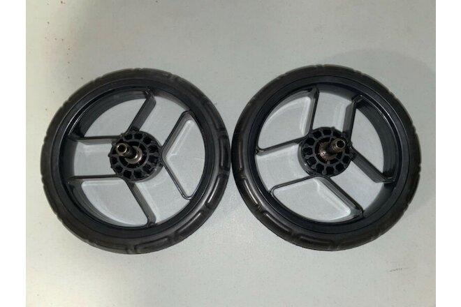 Set of 2 Orbit Baby G2 Stroller Wheels REAR Left Right BARELY USED