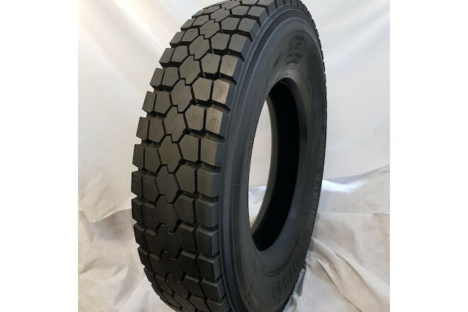(4-Tires) 10R22.5 ROAD CREW DT340 NEW HEAVY DUTY DRIVE TIRES 14 PLY 141/139K