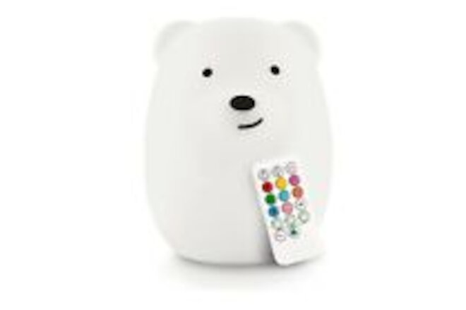 Lumipets LED Nursery Night Light for Kids- Color Changing Touch Sensor & Remote