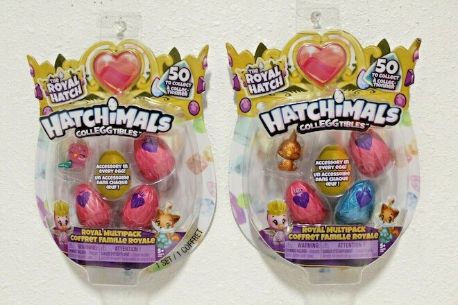 Hatchimals COLLEGGTIBLES The Royal Hatch 2 Pack