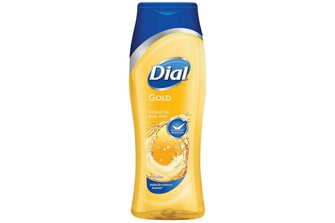 Dial Gold Hydrating Body Wash 16 oz (Pack of 2)