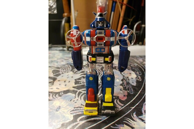 4 - VINTAGE XV*VOLTRON DAIRUGGER* 6 Inch Original GB-75 from Japan