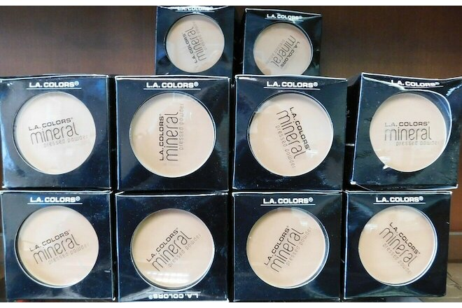 Wholesale 78 Pcs L.A. Colors Mineral Pressed Powder Creamy Natural CMP303 .26oz