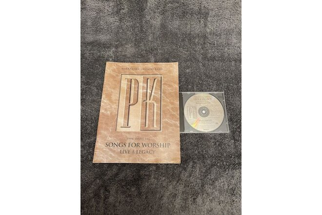 Promise Keepers Live a Legacy Accompaniment CD & Songbook ©1998 OOP HTF Rare
