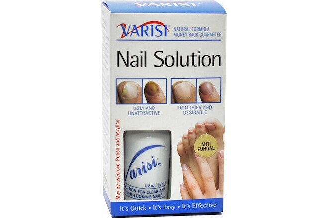 Varisi Nail Solution 0.50 oz (Pack of 2)