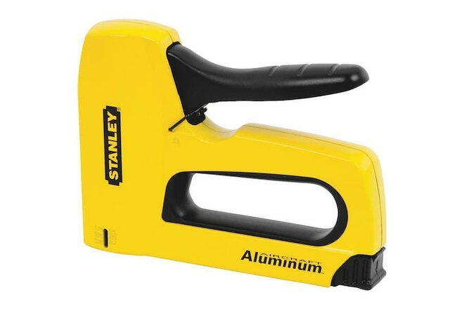 "(6)-Stanley 1/4""- 9/16"" SharpShooter High-Visibility Heavy-Duty Staple Gun TR150"