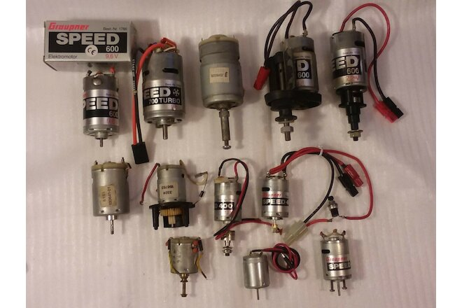 RC Airplane Electric Motor Engine Lot