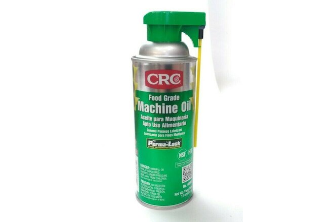 CRC Food Grade Machine Oil, 11 Oz. CASE OF 12  # 03081
