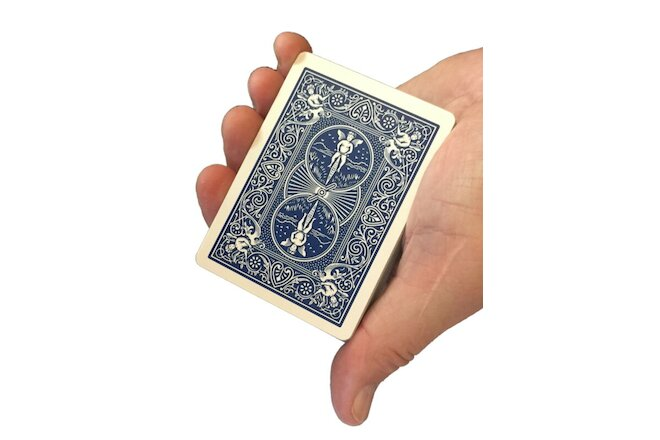 Invisible Deck Playing Cards Magic Trick Kit, Cool Party Games ,  (Blue, 2 Pack)