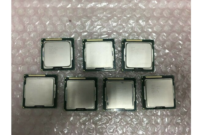 Lot(7) Intel CPU i5-2400 3.10GHz SR00Q