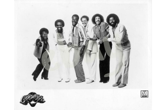 "COMMODORES press kit ""Midnight Magic"" 8""x10"" glossy, bio, Motown folder 1979"